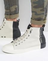 Calvin Klein Arnaud Hi Top Logo Sneakers