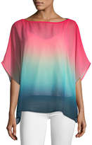 Trina Turk Sunset Ombré Relaxed Blouse