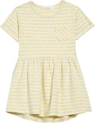 Miles baby Stripe Pocket Dress