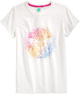 Roxy Good Vibes Tee, Big Girls (7-16)