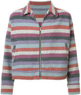 The Elder Statesman striped jacket