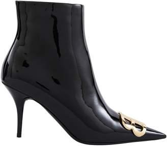 Balenciaga Calf skin leather ankle boots