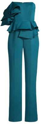 Mestiza New York Figura Ruffle Peplum Jumpsuit