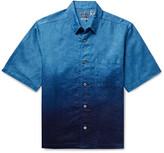 Thumbnail for your product : Blue Blue Japan Degrade Linen Shirt