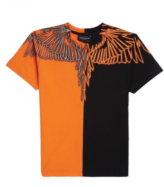 Marcelo Burlon County of Milan Colour-Block Wings T-Shirt