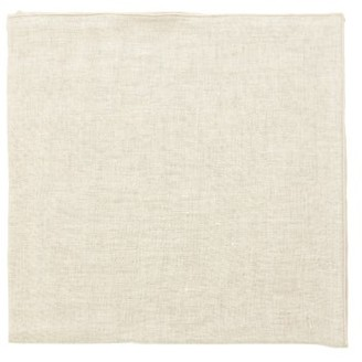 BEIGE Once Milano - Set Of Four Linen Napkins
