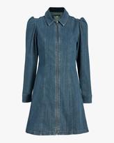 ALEXACHUNG Rocky Denim Dress