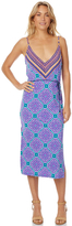 Tigerlily Paldan Womens Slip Dress Blue
