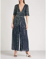 Temperley London Topiary sequinned jumpsuit