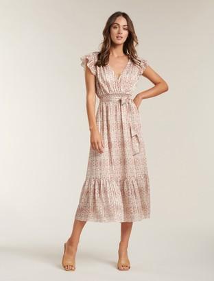 Ever New Marni Shirred Tiered Dress