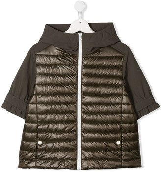 Herno TEEN padded hooded jacket