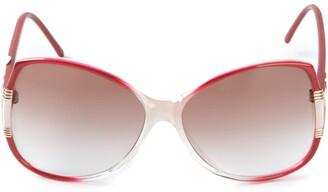 Balenciaga Pre Owned Oversized Sunglasses