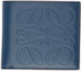 Loewe Blue Bifold Wallet