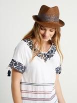 White Stuff Summer trilby hat