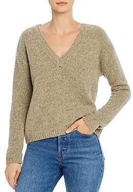 Majestic Filatures Cashmere V-Neck Sweater