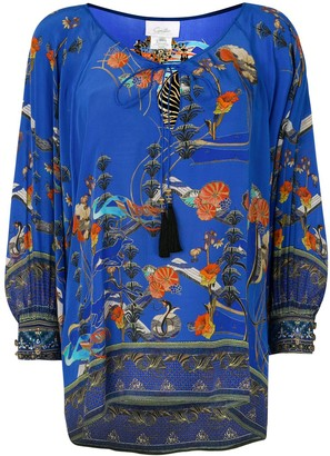 Camilla Tree of Life blouse