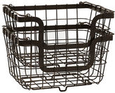 Mikasa Gourmet Basics General Store Stacking Nesting Organization Basket