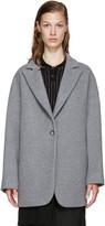 MM6 MAISON MARGIELA Grey Wool Coat