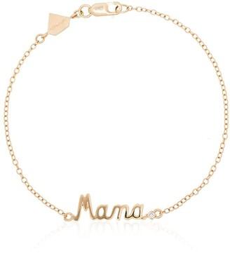 Alison Lou Mama 14kt gold bracelet
