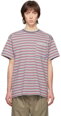 Rassvet Grey Pinstripe T-Shirt