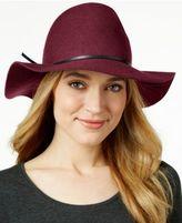 Nine West Pinched-Crown Floppy Felt Hat