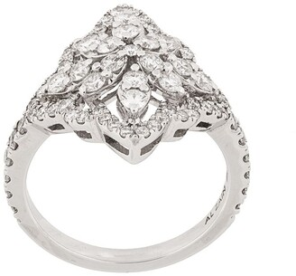 Monan 18kt White Gold And Diamond Cocktail Ring