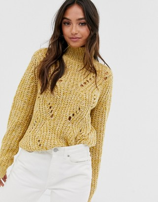 Pieces long sleeve sweater