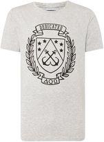 A Question Of Print Crew Neck Regular Fit T-shirt