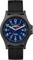 Timex Men's Outdoor Watch | Blue Dial Black Strap | Expedition Acadia TW4999900