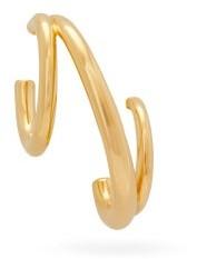 Charlotte Chesnais Triplet 18kt Gold-plated Single Earring - Gold