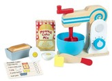 Melissa & Doug Wooden Make-A-Cake Mixer Play Set