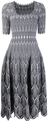 Antonino Valenti Knitted Midi Dress
