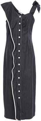Marysia Swim Ruffled Cotton-twill Midi Dress