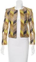 Sass & Bide Metallic Tweed Jacket