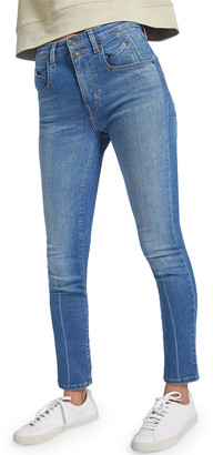 Current/Elliott The Whitby Original High Waist Stiletto Jeans