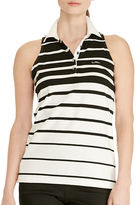 Lauren Ralph Lauren Striped Sleeveless Polo Shirt