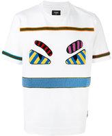 Fendi Bag Bugs T-shirt - men - Cotton/Spandex/Elastane/Acrylic/Wool - 48
