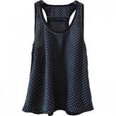 Princesse Tam-Tam Blue Silk Top for Women