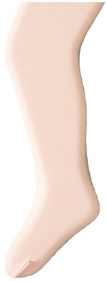 Capezio Ultra Soft Footed Tights (Big Kids) (Ballet Pink) Control Top Hose