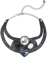 Leather Rock N211 Necklace