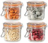 Oggi OggiTM 4-Piece Glass Canisters with Clamp Lid Set