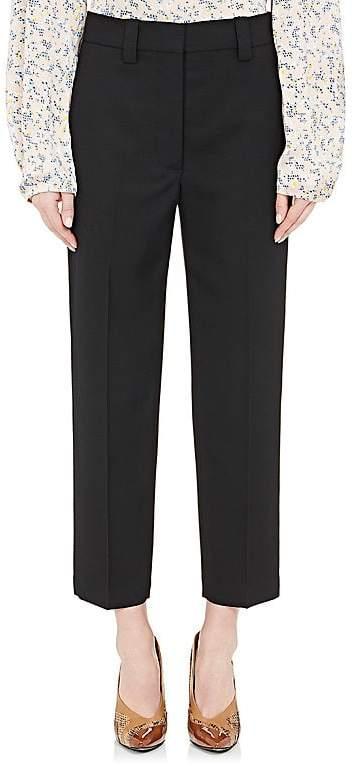Acne Studios Women's Trea Wool Crop Trousers