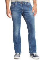 GUESS Men's Bootcut Folsom Blues-Wash Jeans