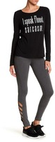 Steve Madden Solid Cutout Leggings