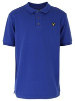 Lyle & Scott Royal Blue Polo