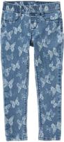 Gymboree Denim Butterfly Woven Pants - Girls