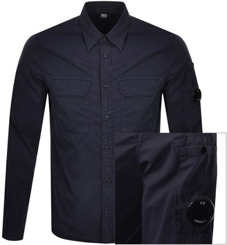 C.P. Company Long Sleeved Shirt Navy