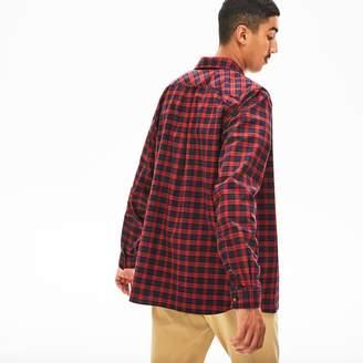 Lacoste Men's Regular Fit Check Cotton Shirt