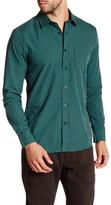 Volcom Everett Minicheck Long Sleeve Modern Fit Shirt