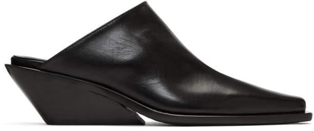 Ann Demeulemeester Black Wedge Heels
